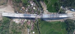 Jembatan Kali Kenteng (Ruas Tol Salatiga Colomadu) Siap Dioperasikan Desember 2018